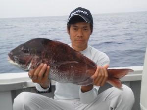廣田さんタイの64cm