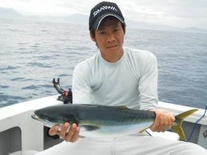 廣田さんメジロ67cm
