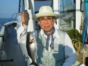 谷口さんのイサキ35cm