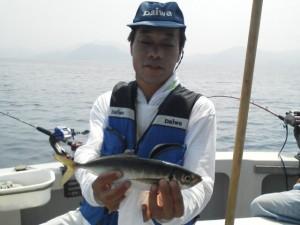中田さんのアジ38cm