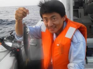 川端さんのアジ