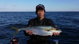 廣田さんのヒラマサ66cm