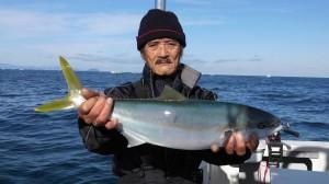 中島さんのヒラマサ60cm