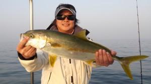 豊田さんのヒラマサ64cm