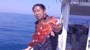 藤原さんのカサゴ30cm