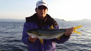 野村さんのヒラマサ67cm