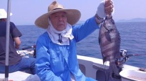 木村さんのイシダイ38cm