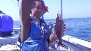 中田さんのイサキ36cm