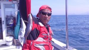 山田さんのイサキ34cm