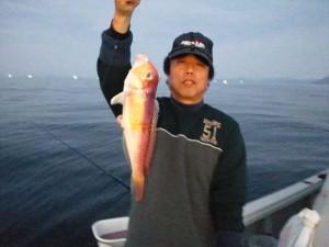 堀江さんの甘鯛38cm