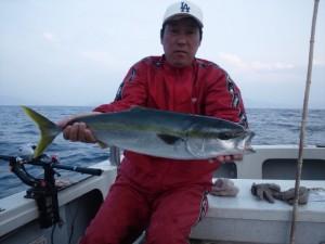 林田さんのメジロ68cm