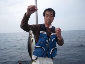中田さんのアジ
