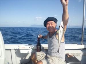 吉村さんのイサキ35cm