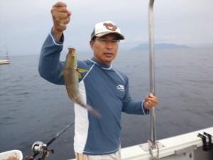 中村さんのイサキ33cm