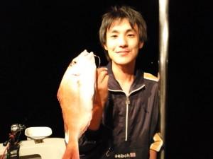 岡田さんのタイ39cm