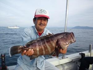 小田垣さんのマハタ60cm