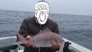 Nさんの真鯛50cm